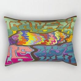 Transcending the Bullshit Rectangular Pillow