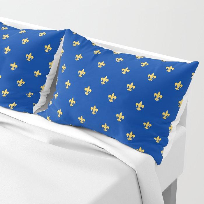Royal Blue Pillow Sham