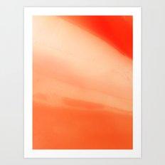 Radiant December Art Print