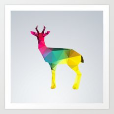 Glass Animal Series - Gazelle Art Print