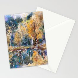 The Pond's Reflections Stationery Cards