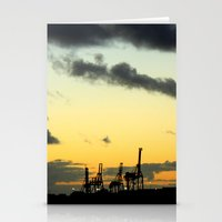 industrial Stationery Cards featuring Industrial by MKMalesevich