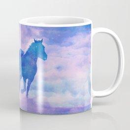 Horses run Coffee Mug