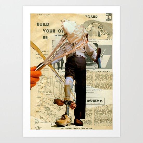 Whip It Art Print