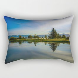 Peacock Bay Rectangular Pillow