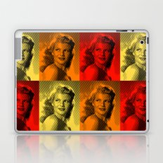 Rita Hayworth Color Laptop & iPad Skin