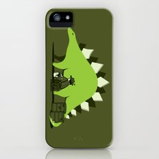 Crude oil comes from dinosaurs Slim Case iPhone (5, 5s)