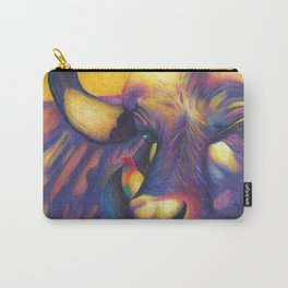 Wild Water buffalo Carry-All Pouch