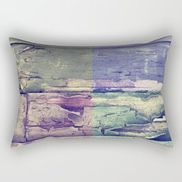 Abstract colored boards pattern Rectangular Pillow