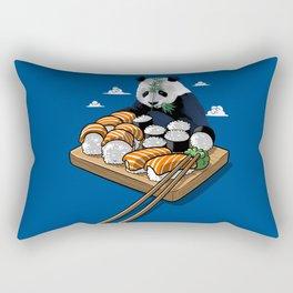 Panda Sushi Rectangular Pillow