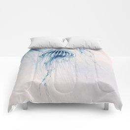 Deep Blue Sea #1 Comforters