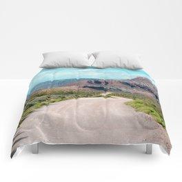 Dirt Road Home (La Verkin, Utah) Comforters