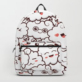 Happy clouds Backpack