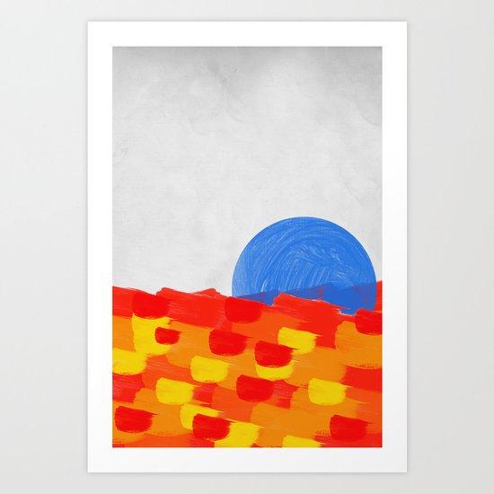 SUNSEA Art Print