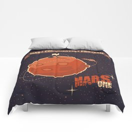 Mars colonization project Comforters