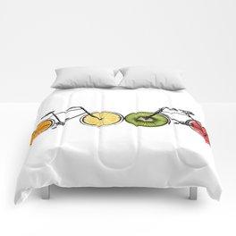 Fruity bikes Comforters
