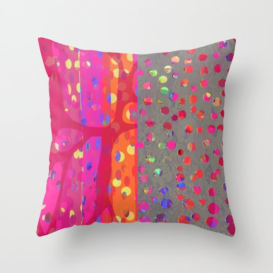 Falling Together (7) Throw Pillow