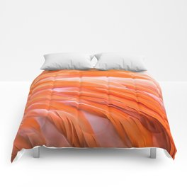 You Are What You Eat Flamingo Feathers Comforters