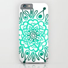 Turquoise Mandala Slim Case iPhone 6s