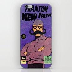 phantom moustache iPhone & iPod Skin