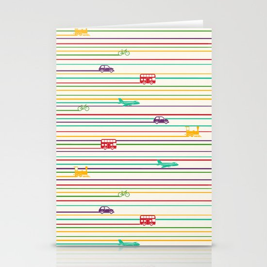 Keep Rolling Stationery Cards