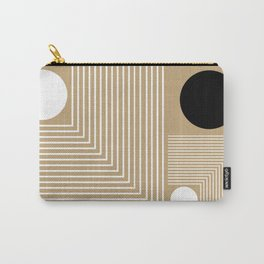 Lines & Circles Carry-All Pouch
