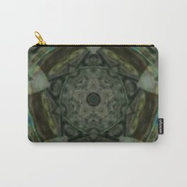 The Green Unsharp Mandala 1 Carry-All Pouch