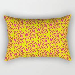 Fluo Sghiribizzy Rectangular Pillow