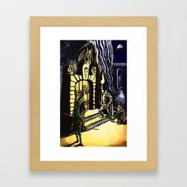 Door to Adventure Framed Art Print