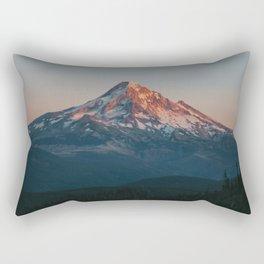Mount Hood Sunset Rectangular Pillow