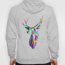 3D Stag Hoody