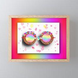 Sunny Glasses Framed Mini Art Print