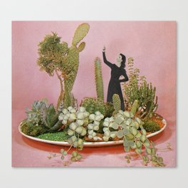 The Wonders of Cactus Island Canvas Print