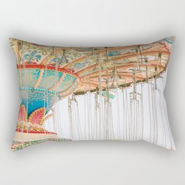 Swing ride Rectangular Pillow