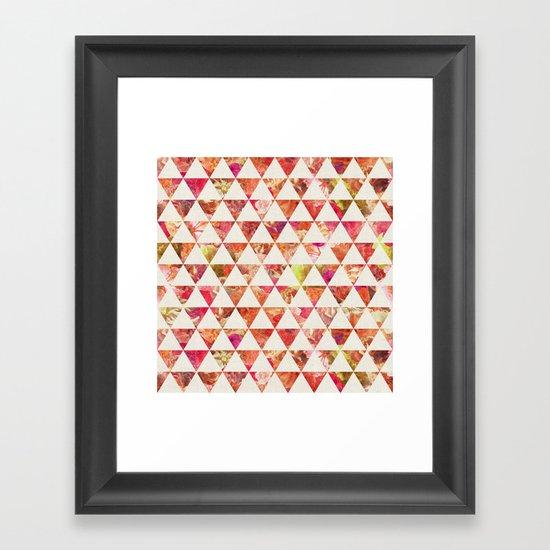 FLORAL FLOWWW Framed Art Print