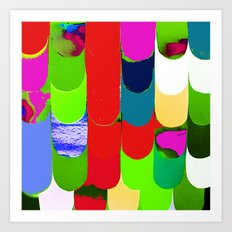 abstract art, pattern, print Art Print