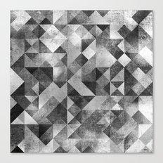moon matrix Canvas Print