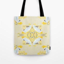 Natural Cockatoo Tote Bag