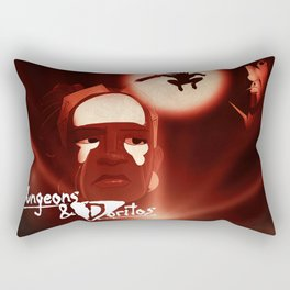 """""""Hearts of Darkness"""" - Dungeons & Doritos Rectangular Pillow"""