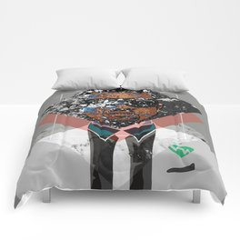 Hip Hop KanyeWest Compilation Minimal Abstract Comforters