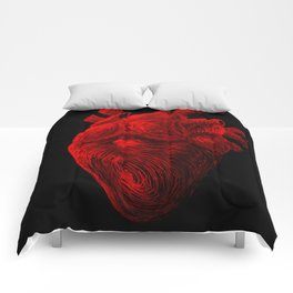 Tell Tale Heart Comforters