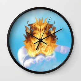 The Offering Wall Clock