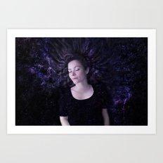 Silent Space Art Print