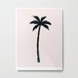Palm Tree Arecaceae Print Metal Print