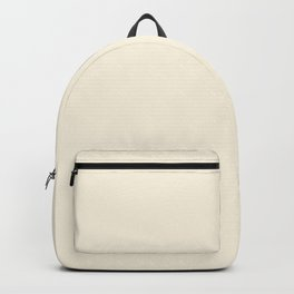 Ivory - Solid Color Collection Backpack