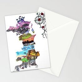 Prythian (with Compass) Stationery Cards