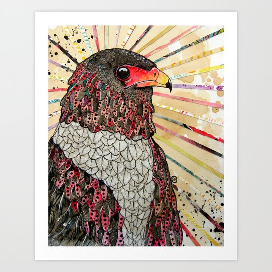 Bateleur Eagle Art Print