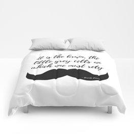 Little Grey Cells Comforters
