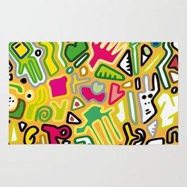 color doodle Rug