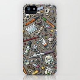 Graphic lab iPhone Case